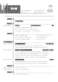 电气自动化工程师新黄金城网址(突出专业技能)